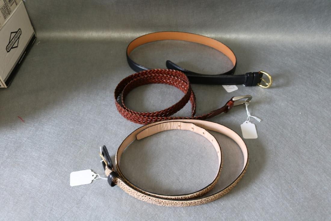 Lot of Vintage Womens Belts