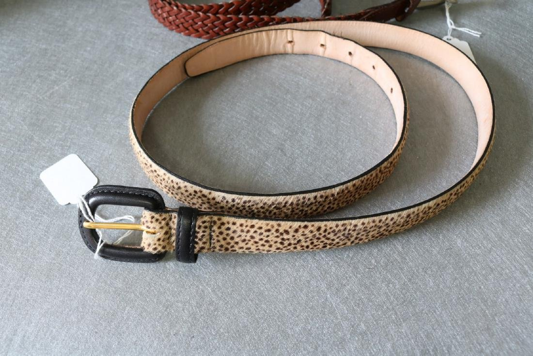 Lot of Vintage Womens Belts - 2