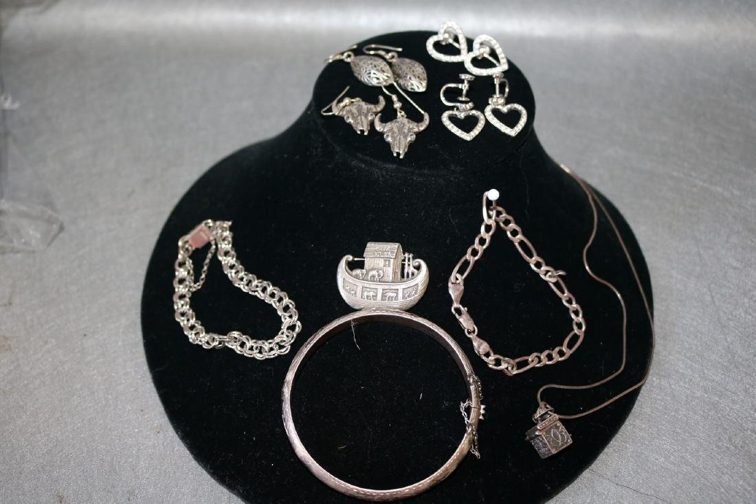 Lot of Vintage Sterling Jewelry