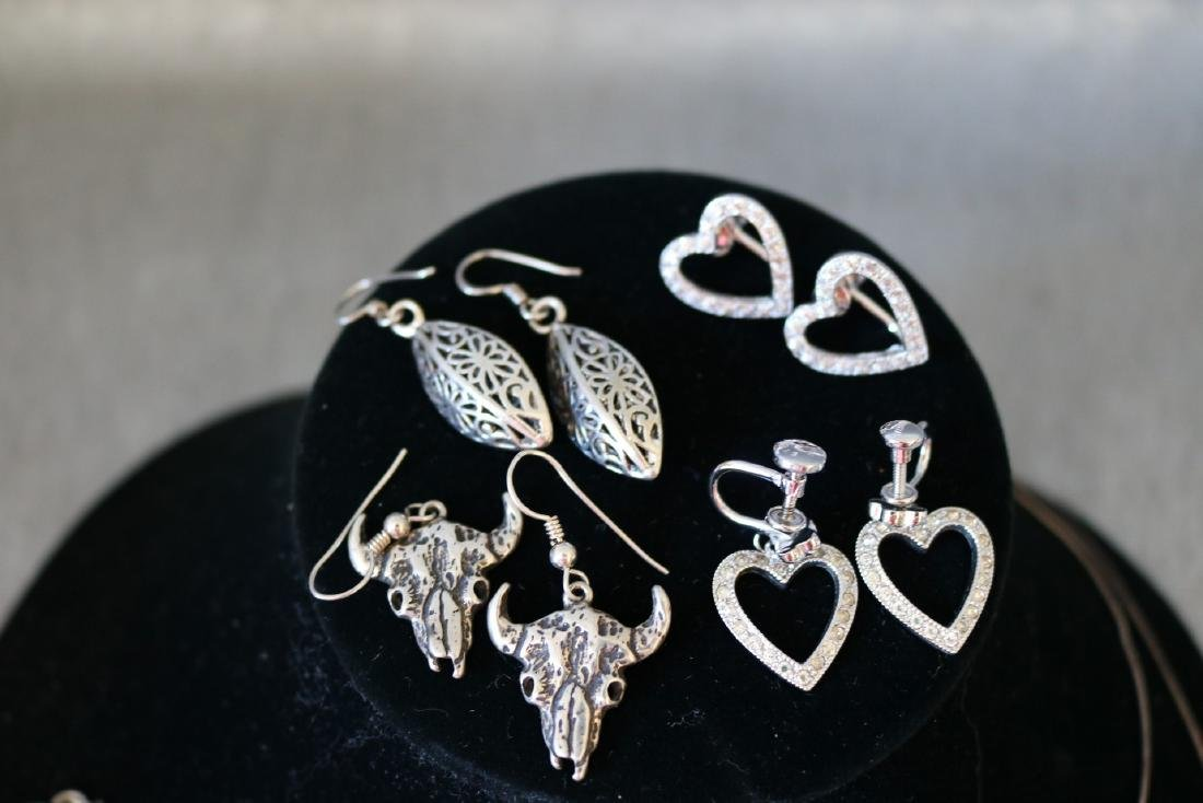 Lot of Vintage Sterling Jewelry - 2