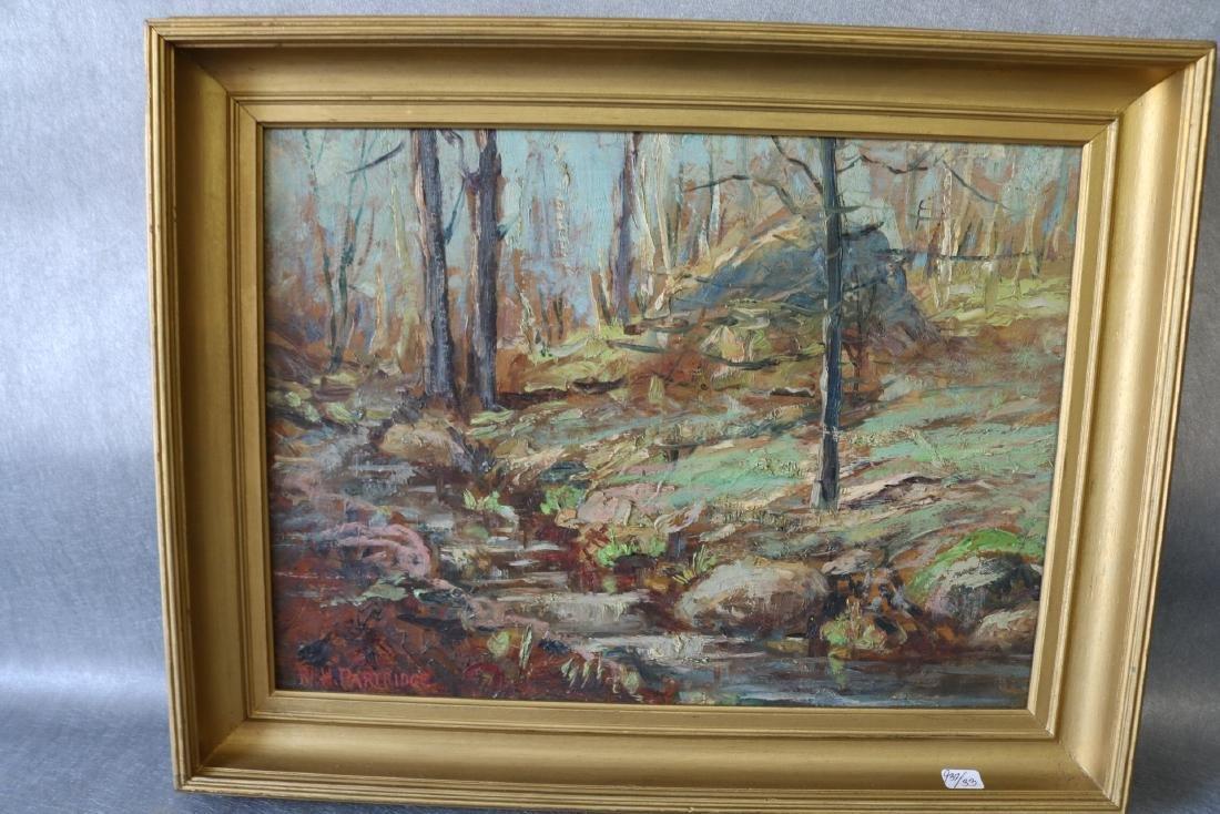 W. H. Partridge, Oil on Board