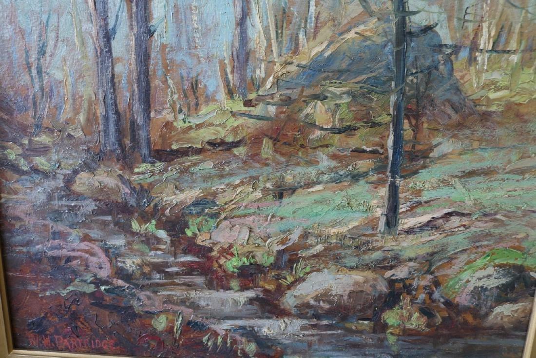 W. H. Partridge, Oil on Board - 2
