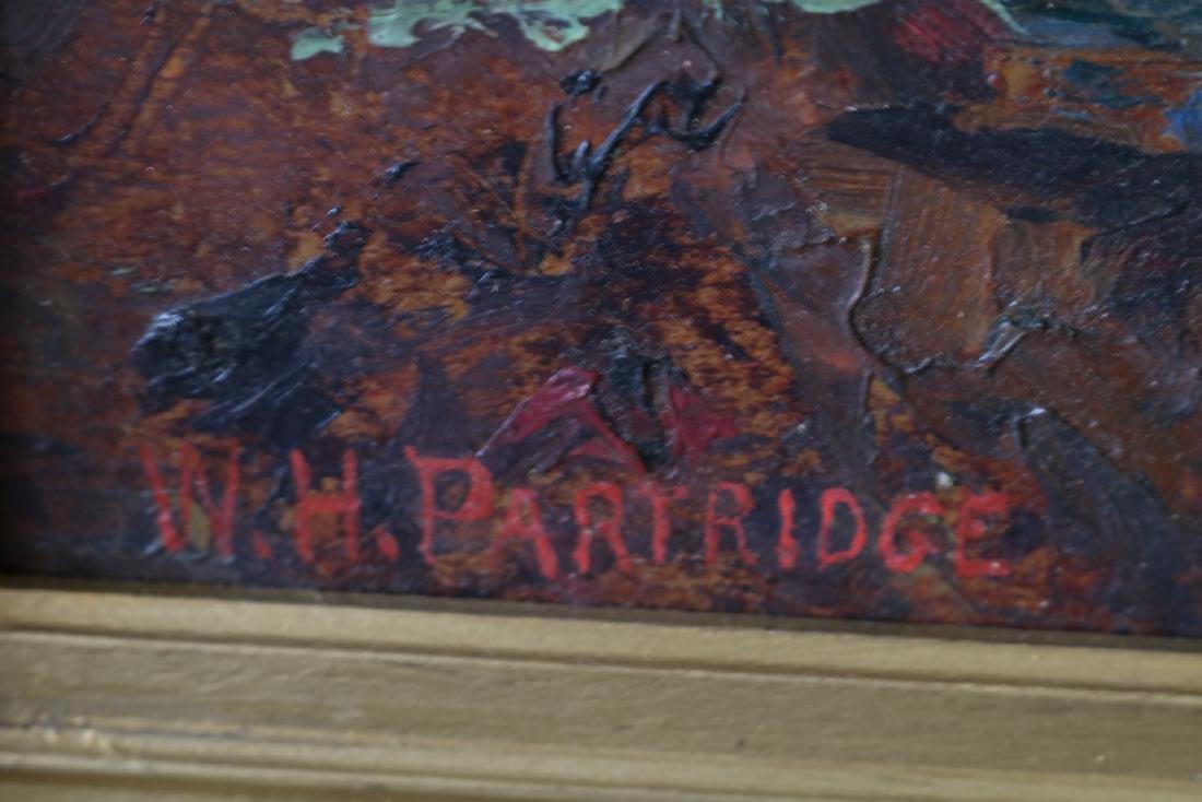 W. H. Partridge, Oil on Board - 3