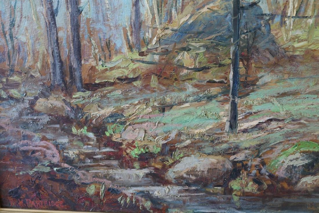 W. H. Partridge, Oil on Board - 4