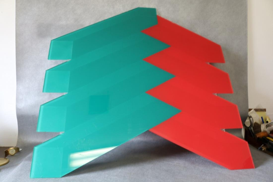 Mid-Century Lucite Wall Art by J. Gerber - 7