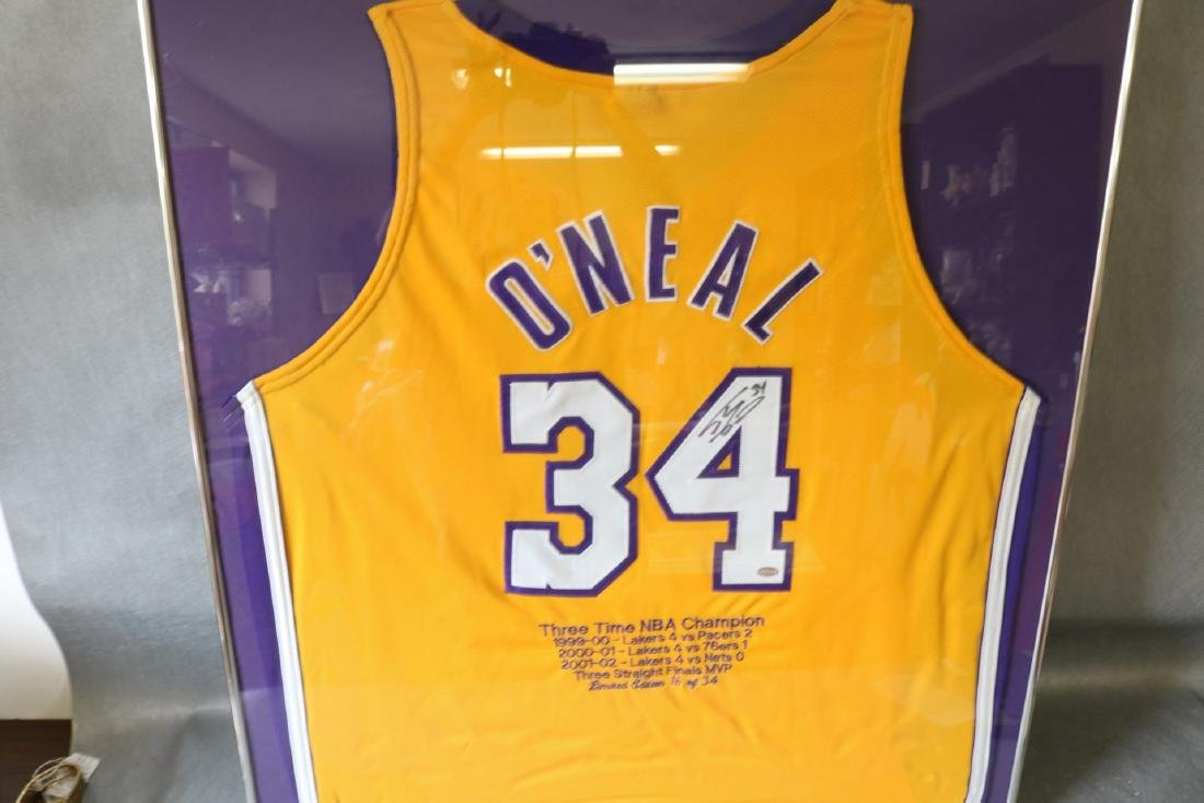 O'Neal Official Basketball Autographed Jersey