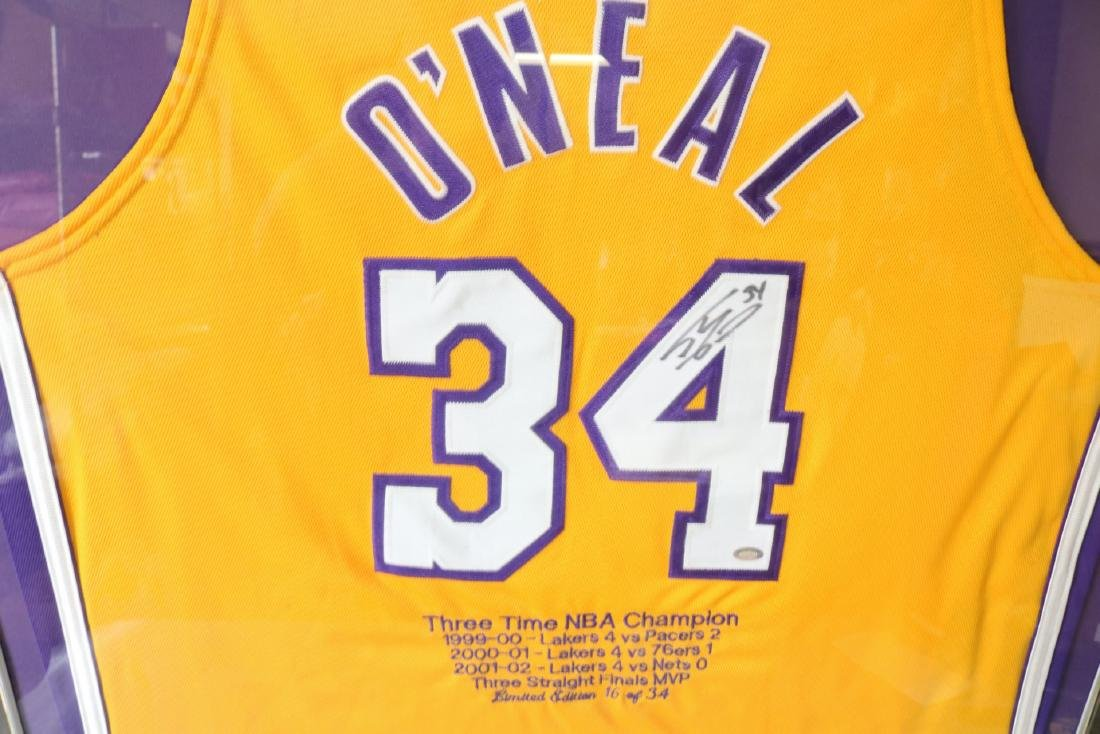 O'Neal Official Basketball Autographed Jersey - 2