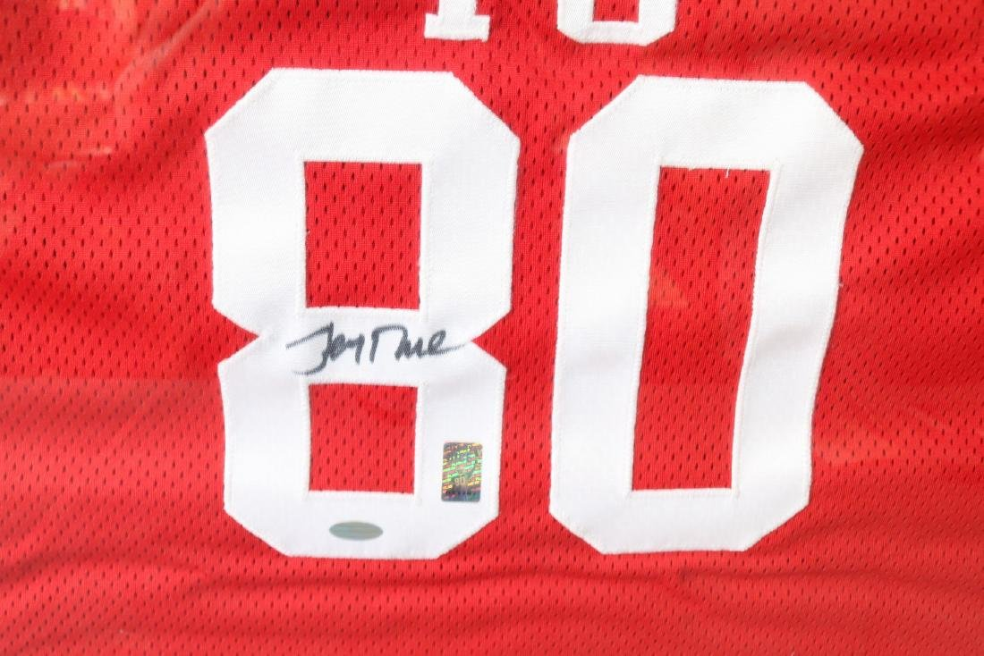 Official 49er Legends  Autographed Football Jersey - 3