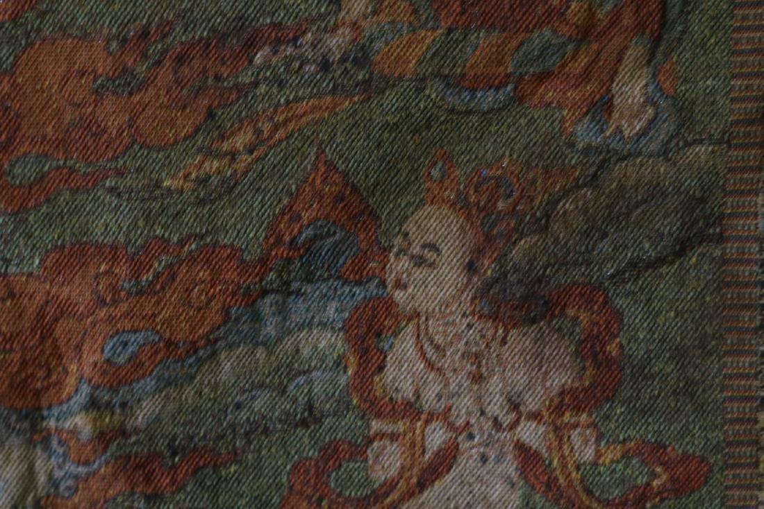 Vintage Asian Tang Ka Tapestry - 10