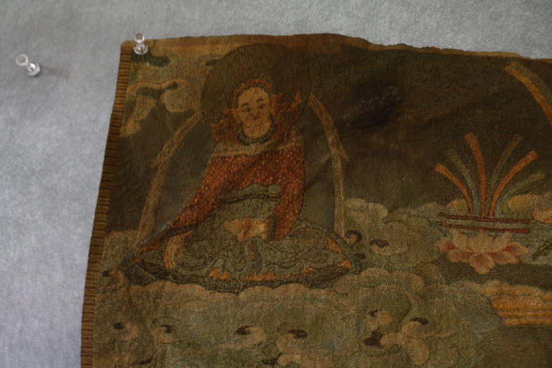 Vintage Asian Tang Ka Tapestry - 4