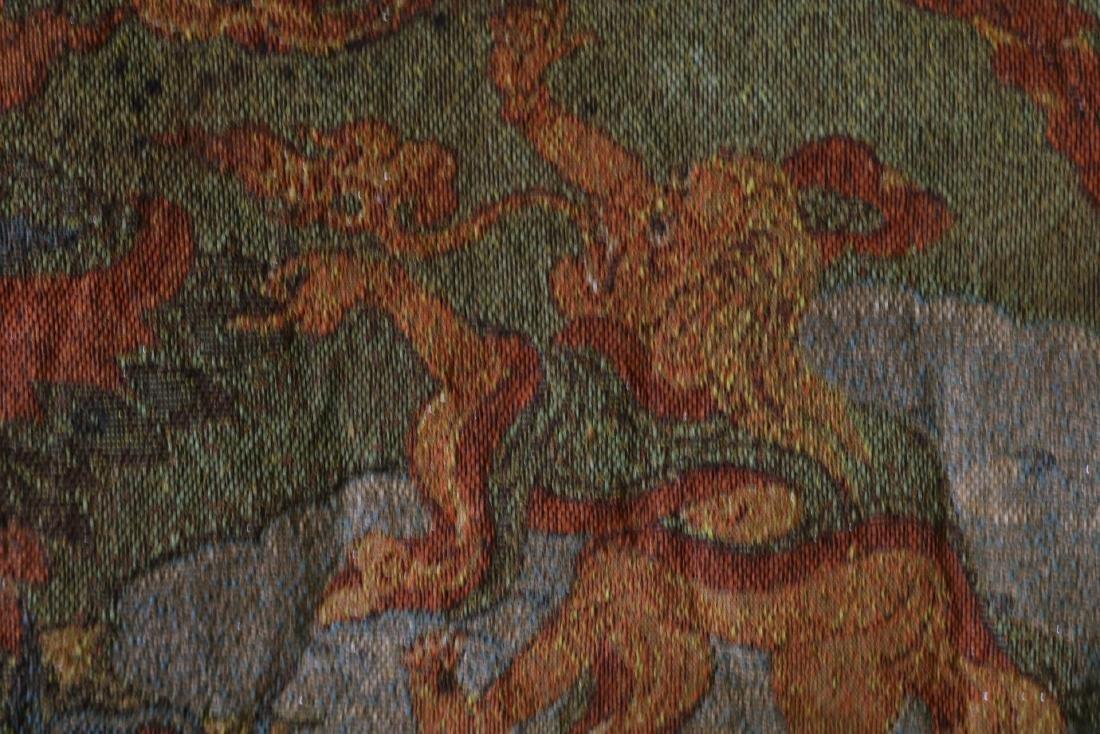 Vintage Asian Tang Ka Tapestry - 9