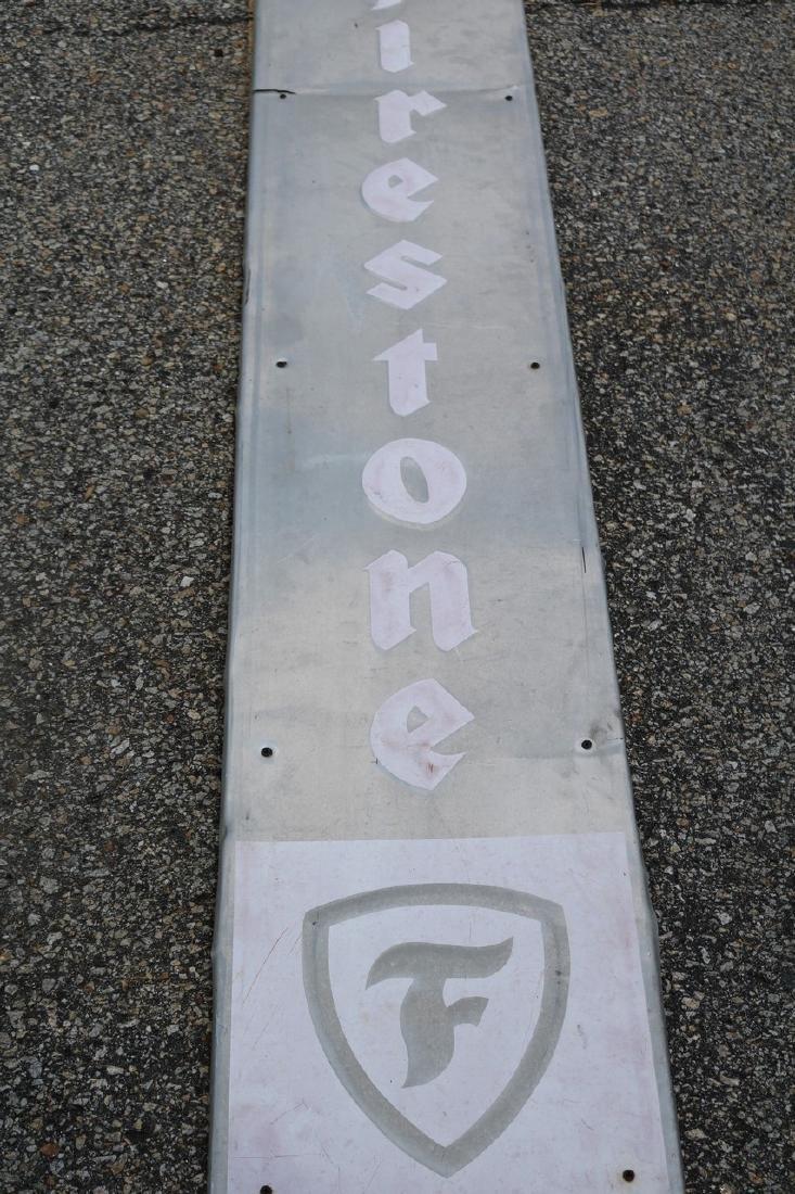 Vintage Firestone Advertising Sign