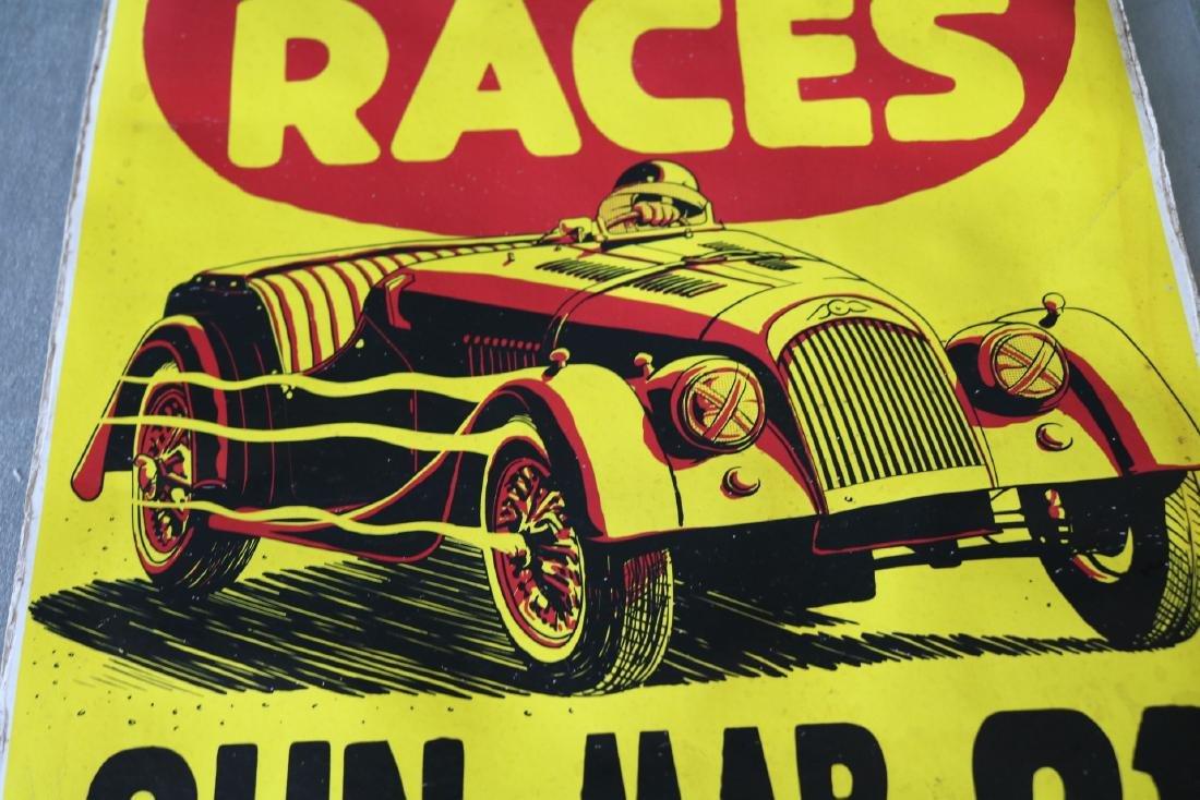 1950's Racing Car Poster - 2