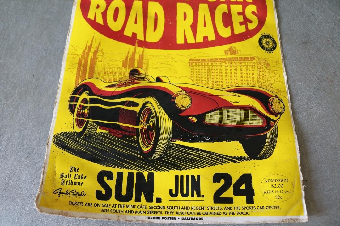 1950's Racing Car Poster - 3