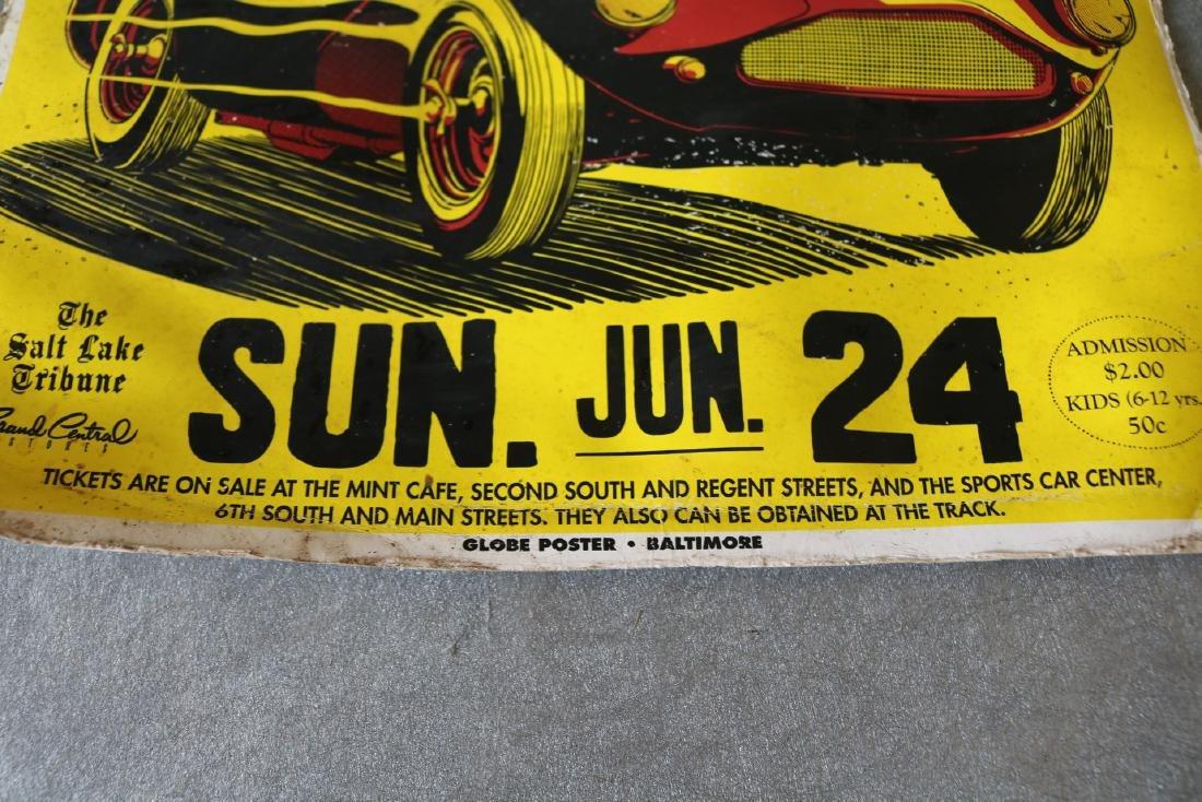 1950's Racing Car Poster - 4