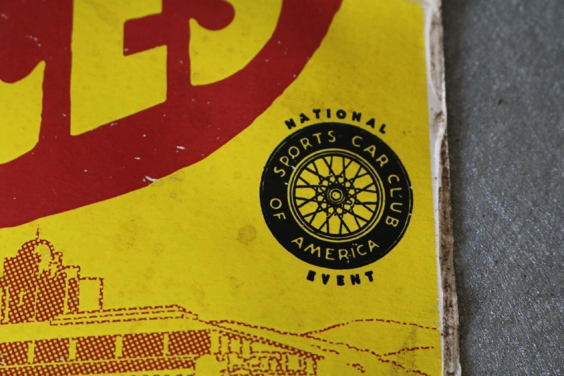 1950's Racing Car Poster - 5