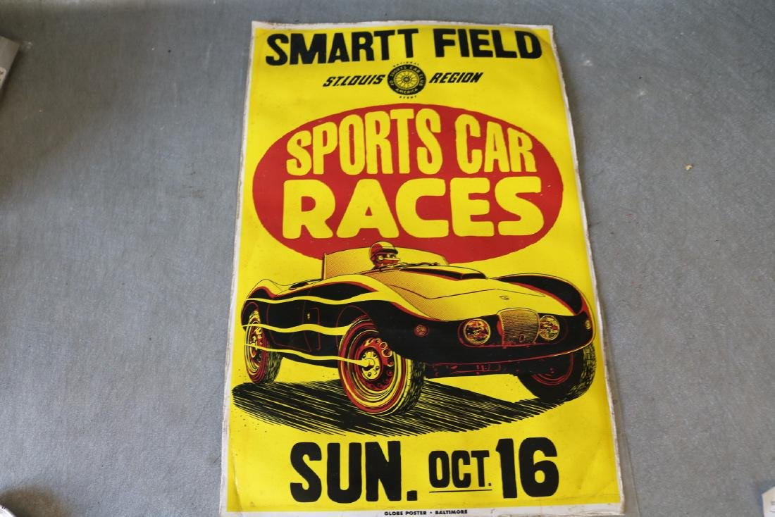 1950's Sports Car Races Poster
