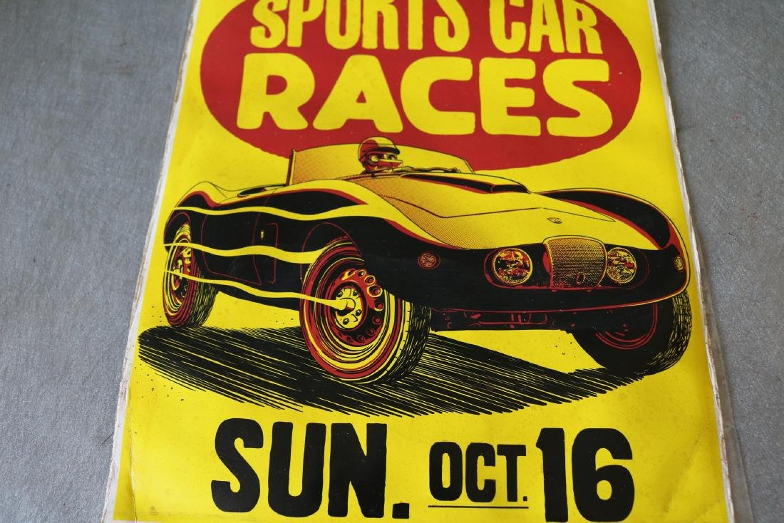 1950's Sports Car Races Poster - 3