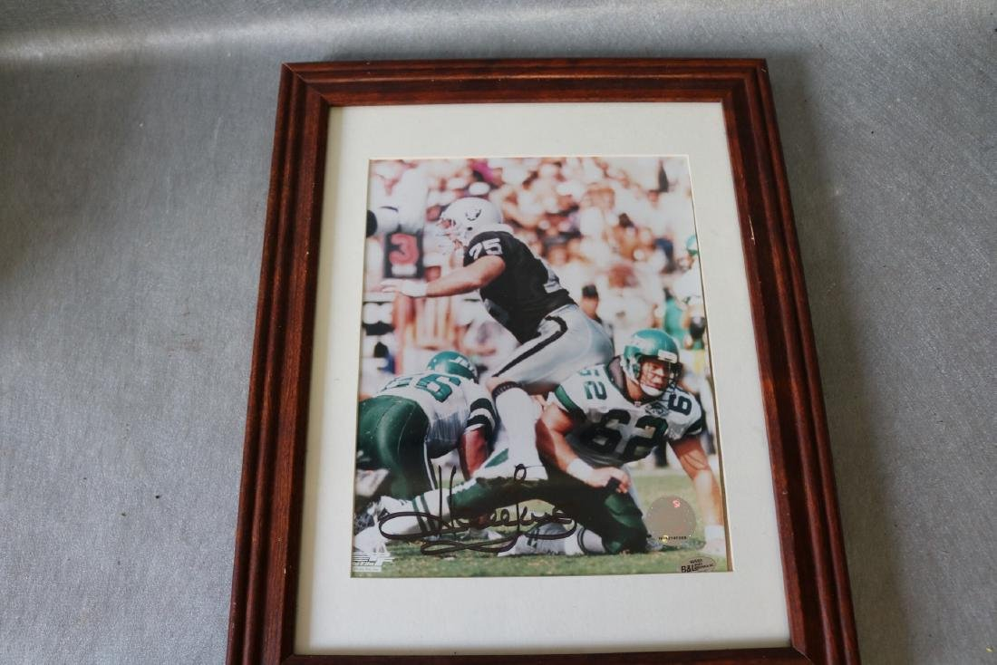 Autographed Terry Bradshaw, official Photo