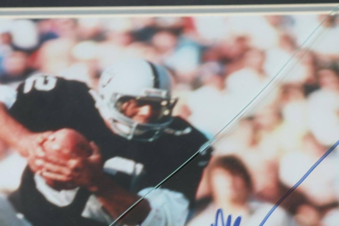 Marcus Allan Autographed Picture, with Ticket #29 - 5