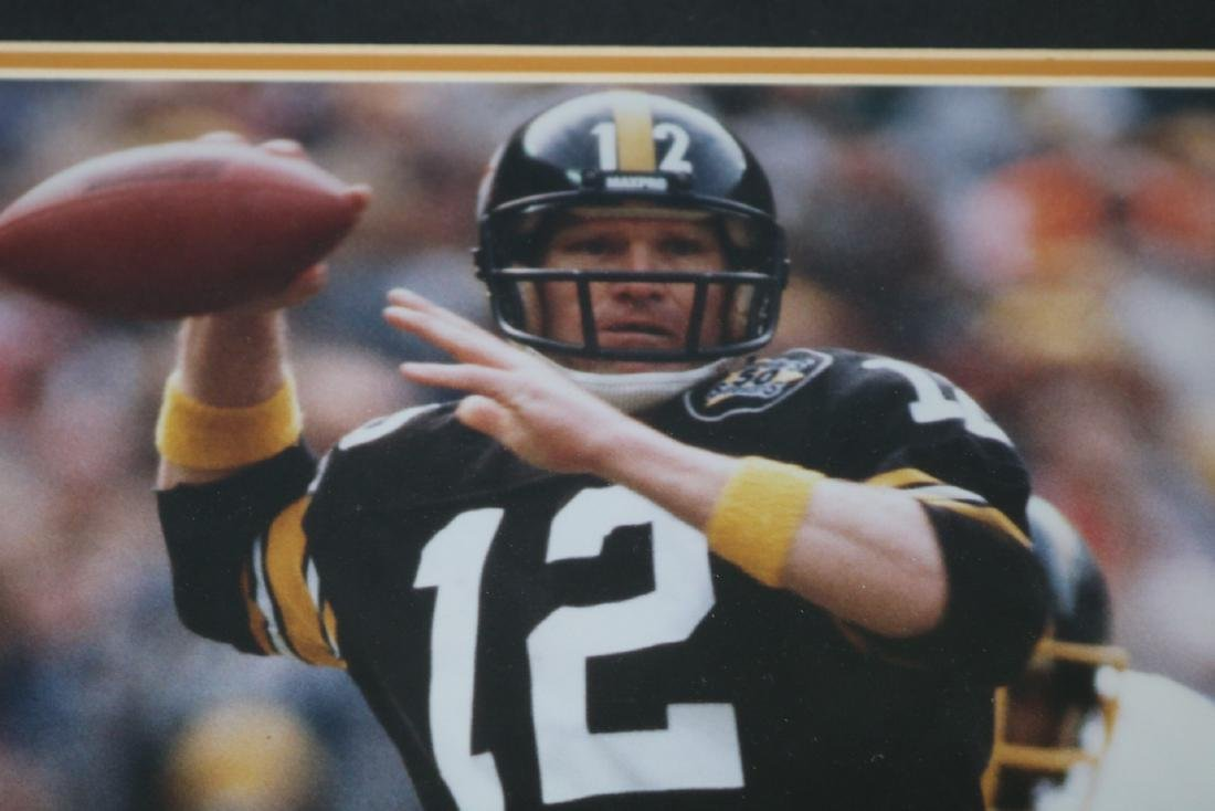 Terry Bradshaw Autographed Poster - 2