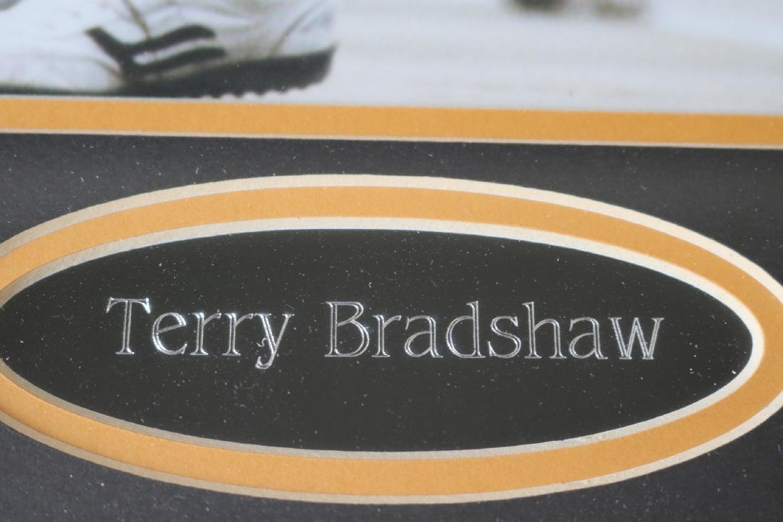 Terry Bradshaw Autographed Poster - 4