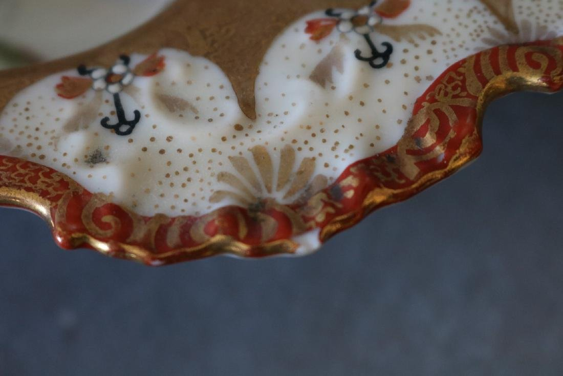 Vintage Hand Painted Asian Bowl - 4