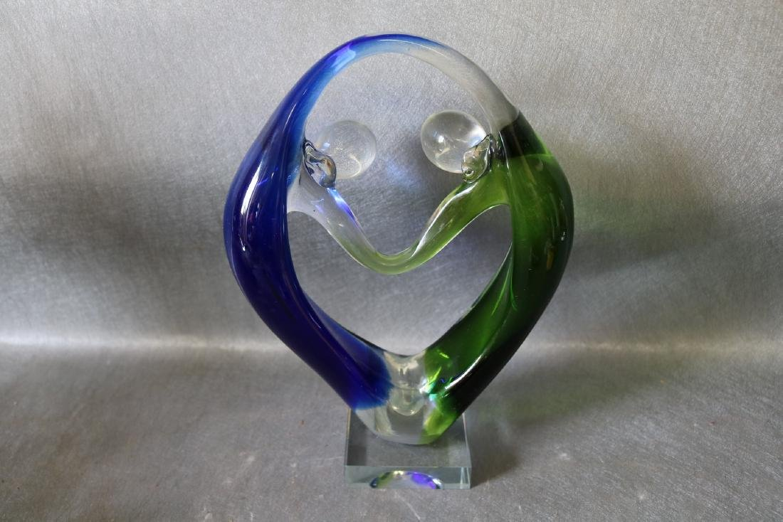 Murano Glass Man & Woman - 3
