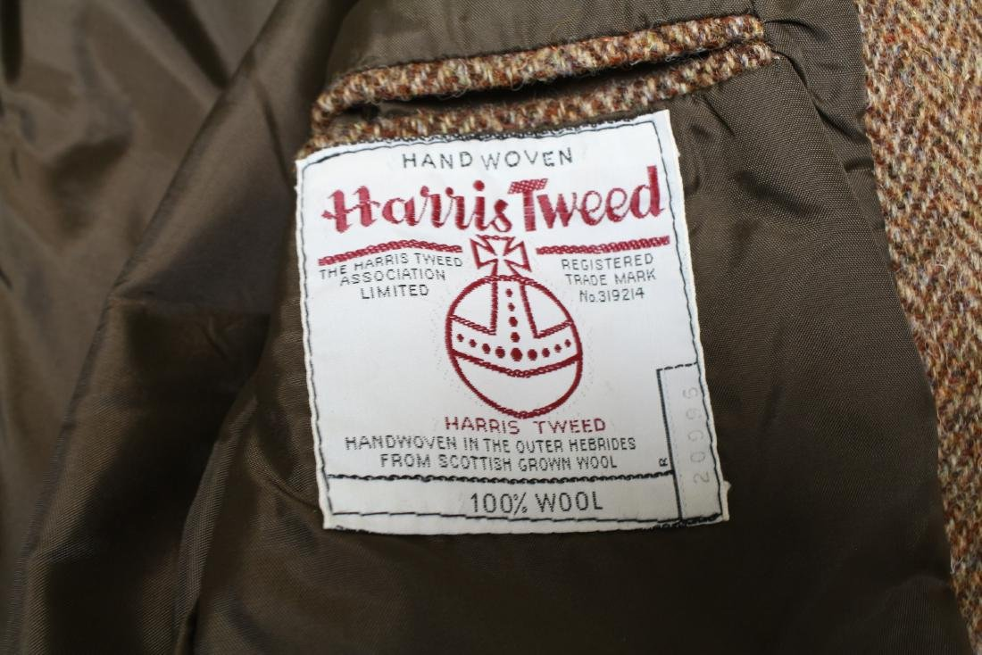 Vintage Lot of 3 Harris Tweed Jackets - 10