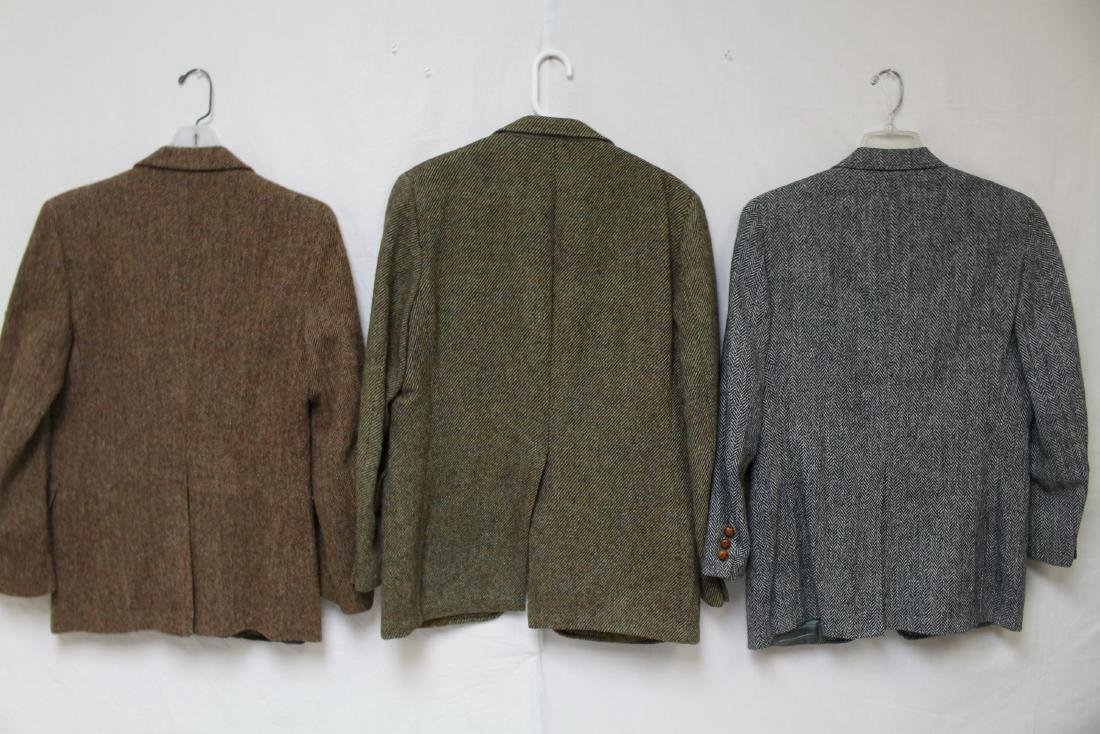 Vintage Lot of 3 Harris Tweed Jackets - 2