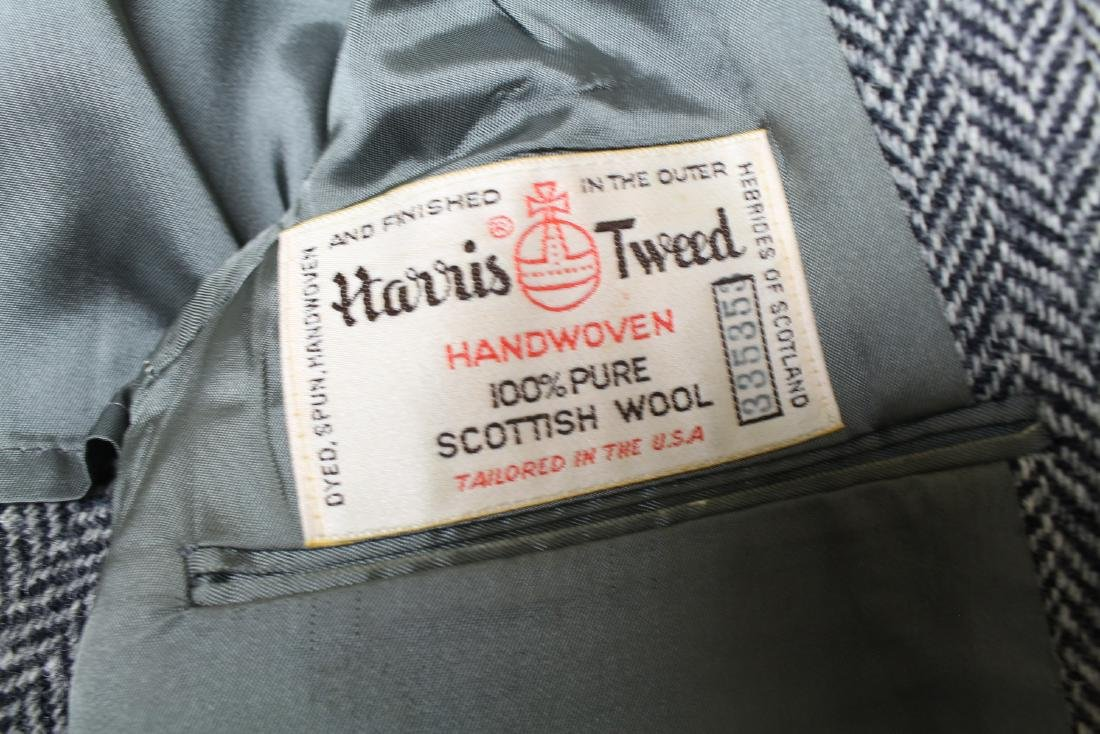 Vintage Lot of 3 Harris Tweed Jackets - 6