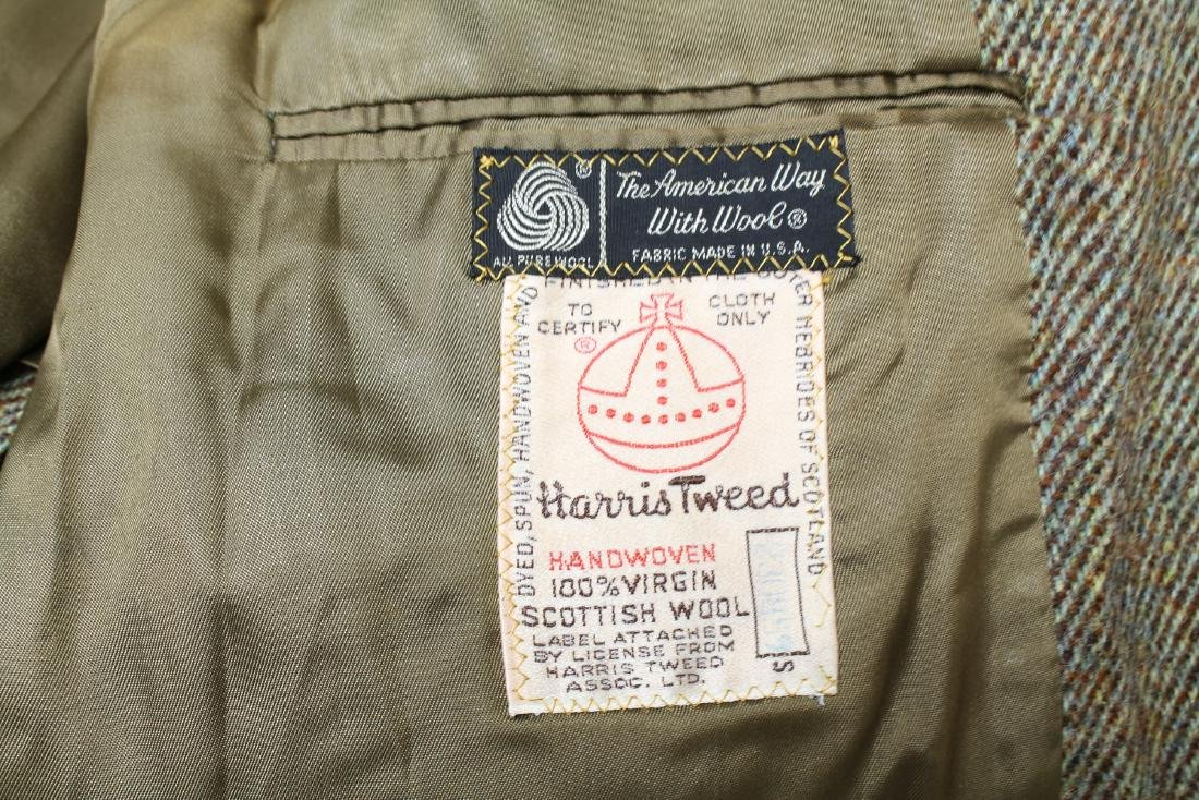 Vintage Lot of 3 Harris Tweed Jackets - 8