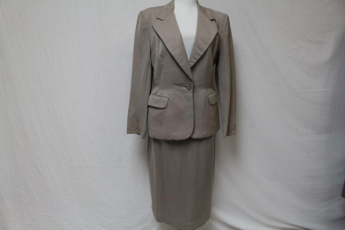 Vintage 1940's Wool Skirt Suit