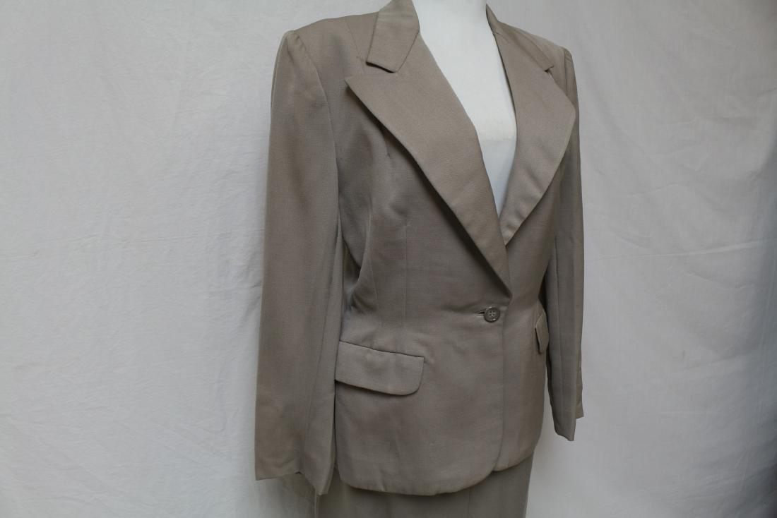 Vintage 1940's Wool Skirt Suit - 2
