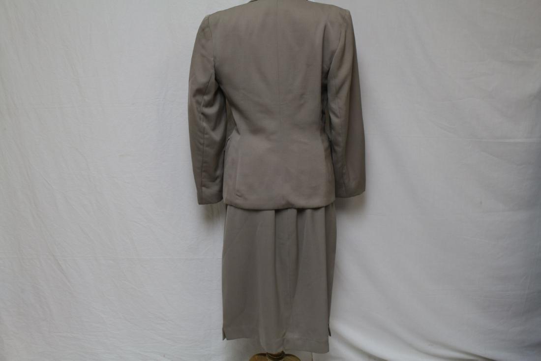 Vintage 1940's Wool Skirt Suit - 3