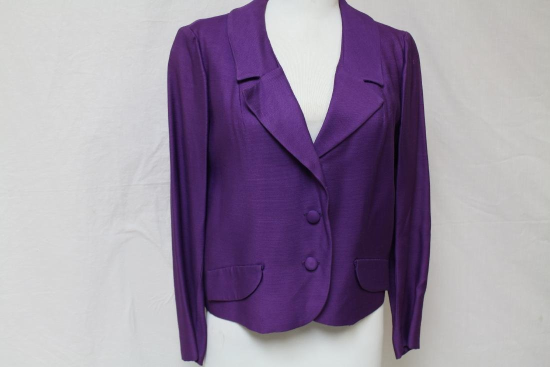 Vintage 1960's Jonathan Logan Purple Jacket