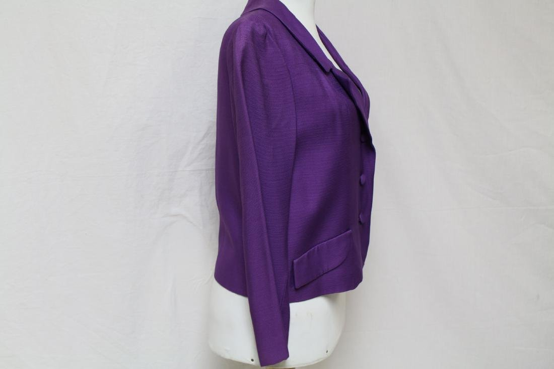 Vintage 1960's Jonathan Logan Purple Jacket - 2