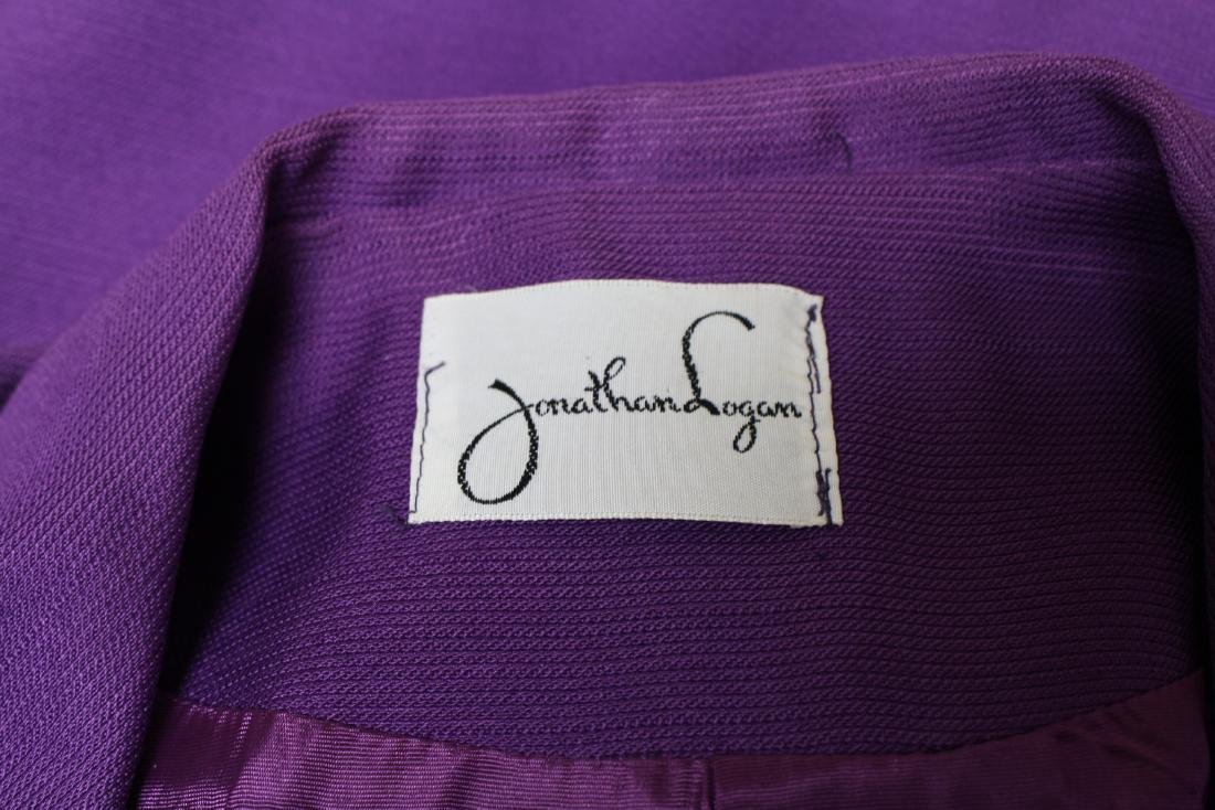 Vintage 1960's Jonathan Logan Purple Jacket - 4