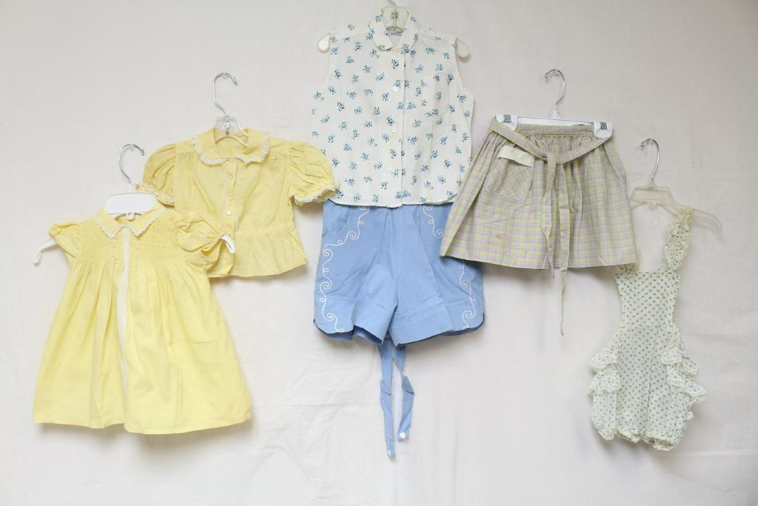 Vintage Lot of Children's Clothing 6 Pieces