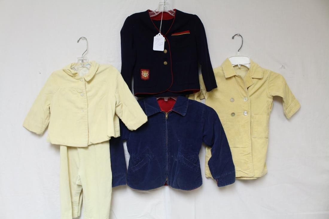 Vintage 1950's/60's Children's Clothing Lot of 5