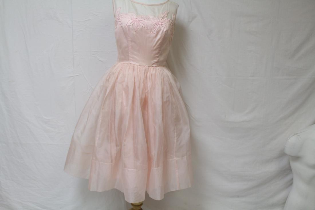 Vintage Jr. Theme NY Pink Party Dress