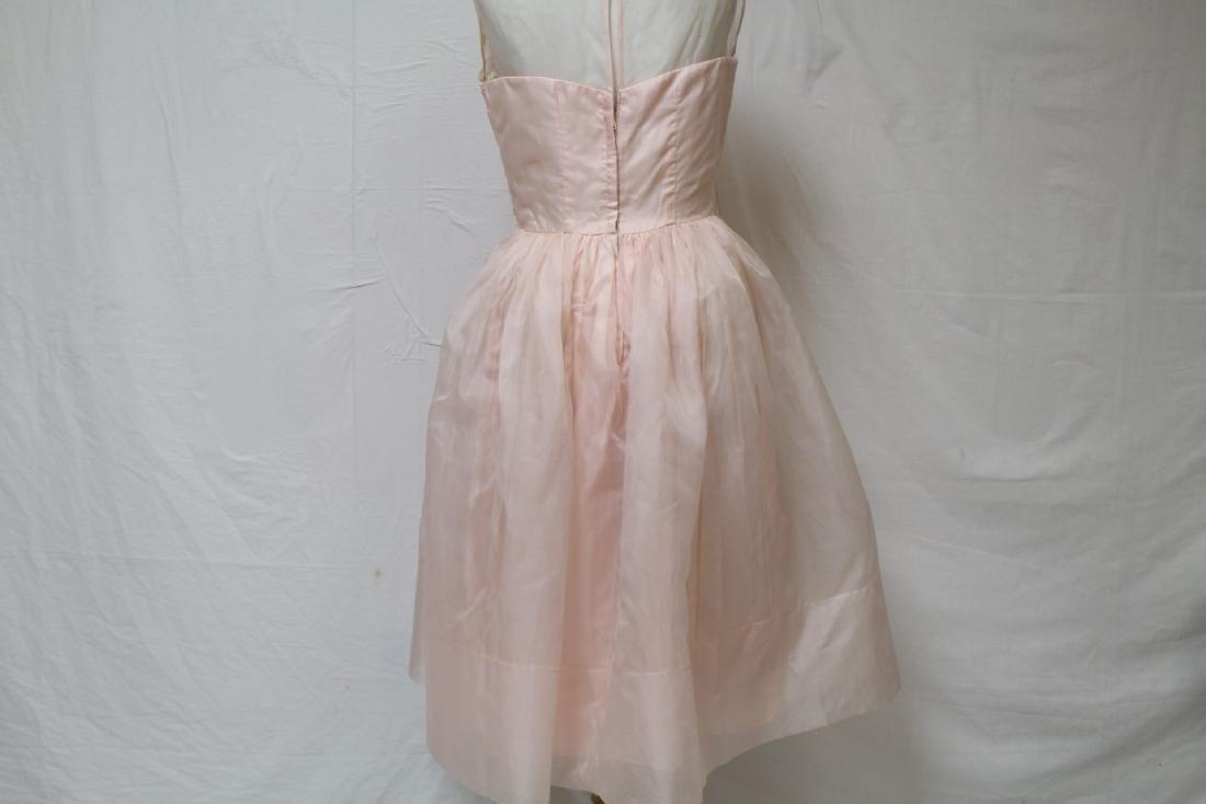 Vintage Jr. Theme NY Pink Party Dress - 3