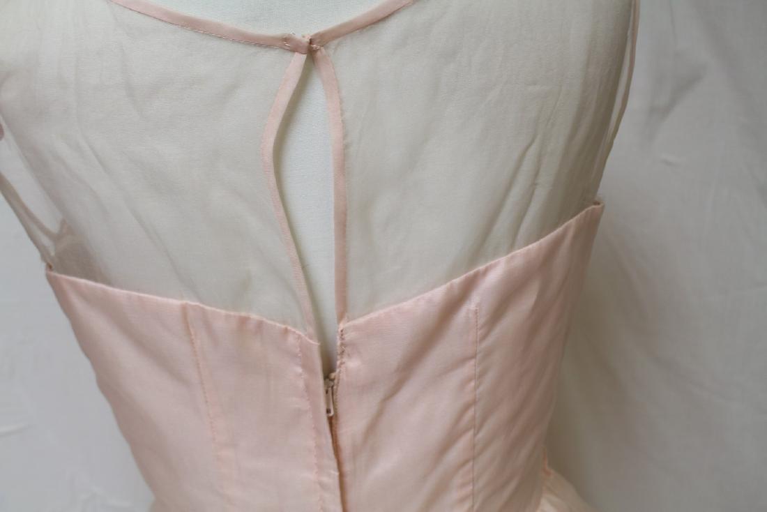 Vintage Jr. Theme NY Pink Party Dress - 4