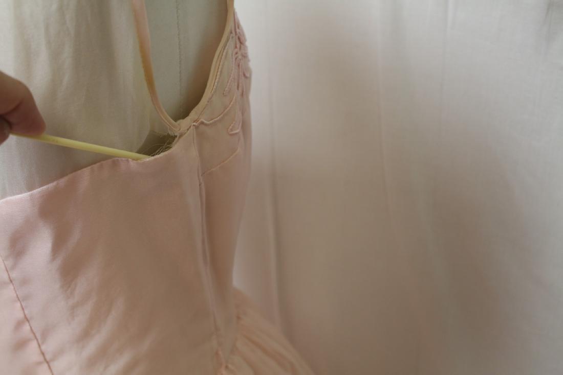 Vintage Jr. Theme NY Pink Party Dress - 5