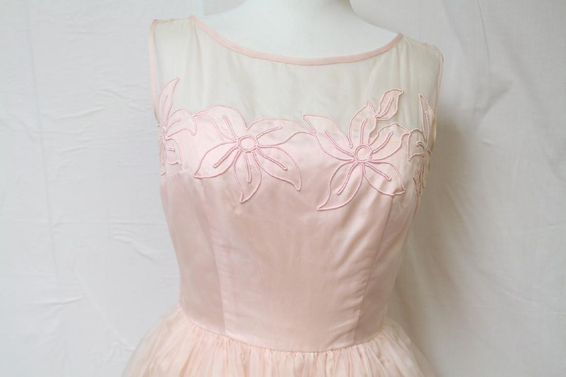 Vintage Jr. Theme NY Pink Party Dress - 7