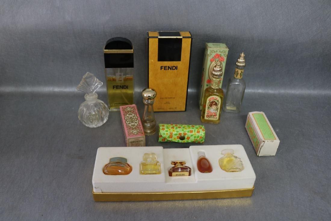 Lot of Vintage Perfumes & Bottles