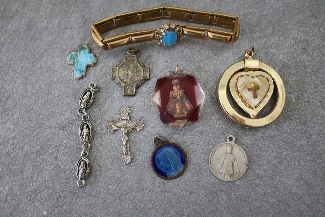 Vintage Lot of Religous Jewelry