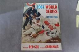 Vintage Official Program & Scorecard 1967 World Series