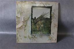Vintage Led Zeppelin Zoso Vinyl Record Album