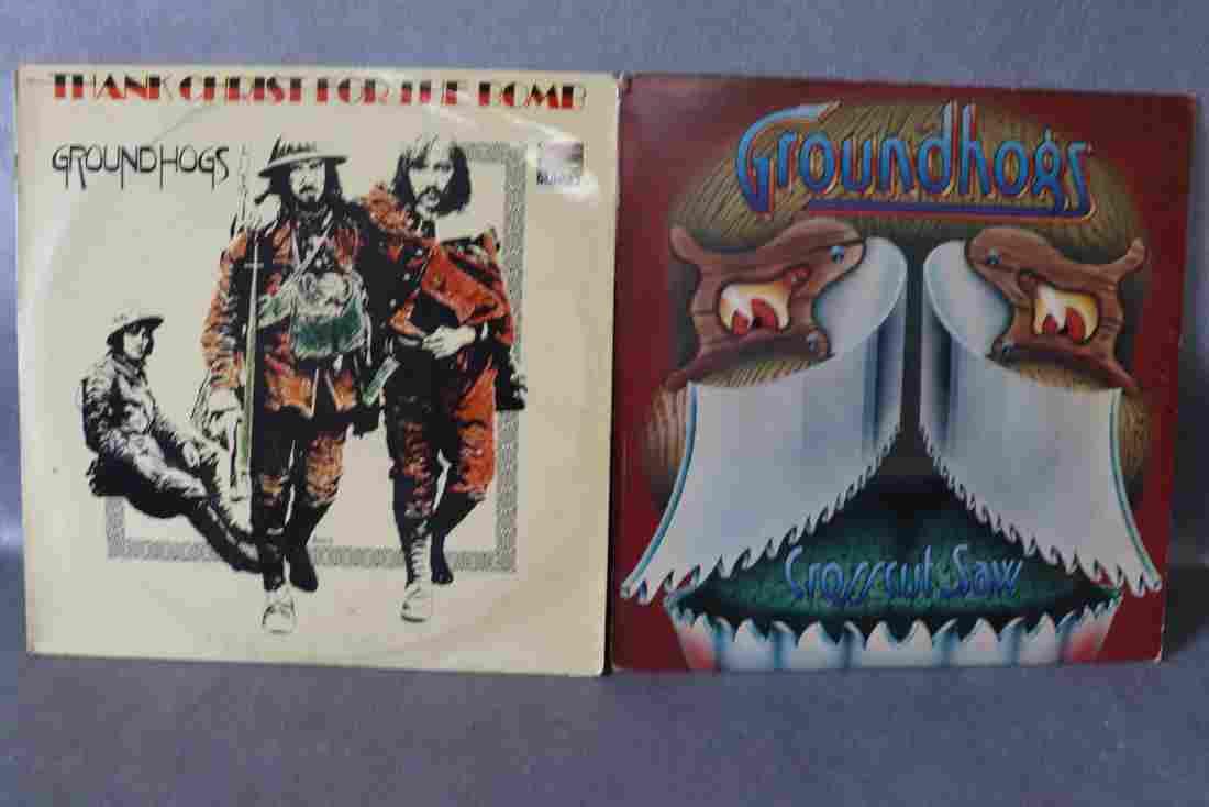 Vintage Lot of 2 Groundhogs Vinyl Record Album